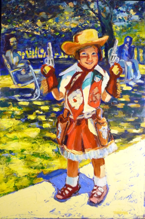 Artist As Cowgirl
