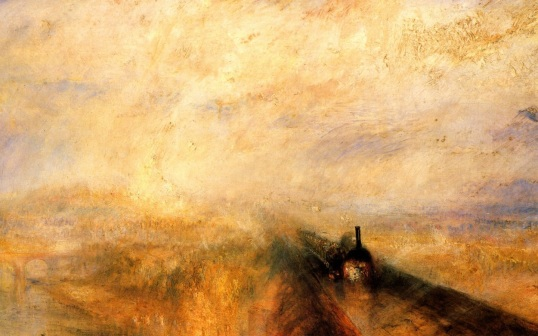 Turner's Rain, Speed and Steam