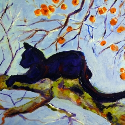 January: Cat in a Tree