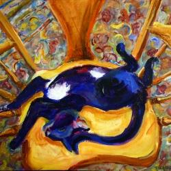 February: Ecstasy Cat