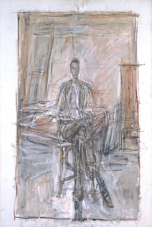 Alberto Giacometti's Seated Man