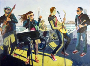 Rockin' Out On The Bay (36 x 48)