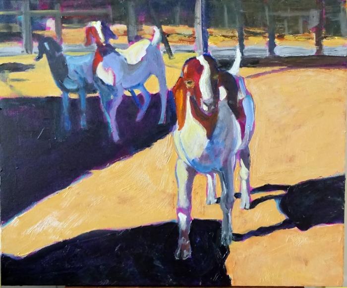 The Boer Goat Gang (20 x 24)