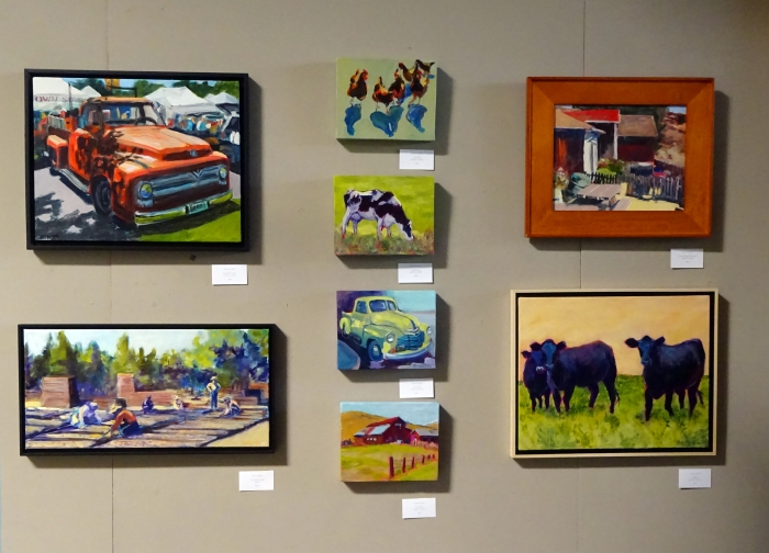 Simply Rural Paintings At HCA Gallery September 2014