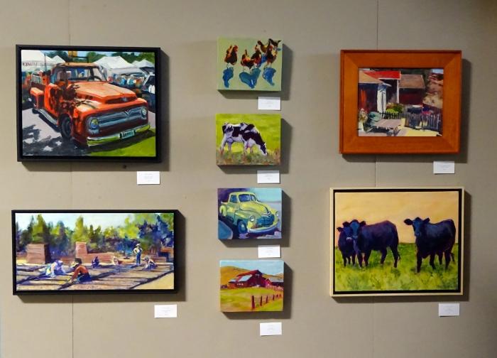 Simply Rural Paintings At HCA Gallery September 2014