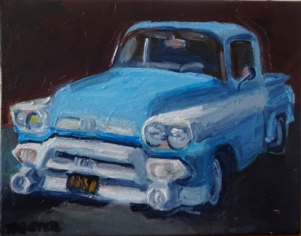 Baby Blue (In Private Collection)