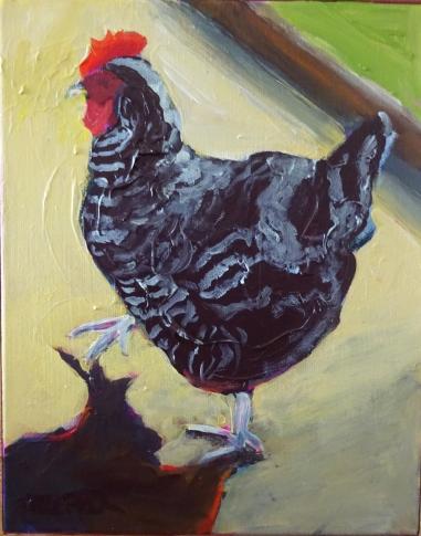 Zebra Chicken (10 x 8)