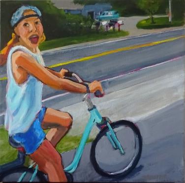 Vélo Vagabond (18 x 18)